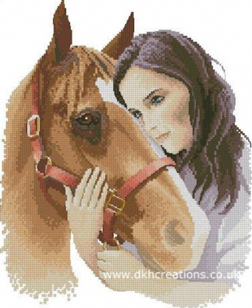 Best Friends Cross Stitch Kit